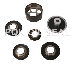 Thermostat rubber valve