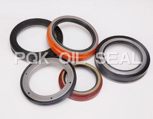 Semitrailer oil seal